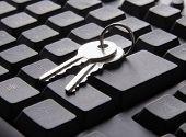 Computer keyboard and key