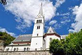 St. Martin's Parish Church, Bled, Slovenia