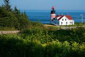 Candy Cane Lighthouse - West Quoddy Head
