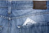 pic of denim jeans  - Close - JPG