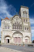 French church basilique de Saint Madeleine en Vezelay