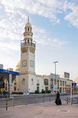MANAMA, BAHRAIN - DECEMBER 26, 2007: Yateem Mosque on Government Avenue. It is located just footstep