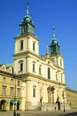 Church Of The Holy Cross in Warsaw