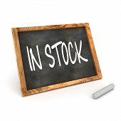 In Stock Blackboard