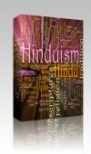 Hinduism Word Cloud Glowing Box Package