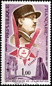 General Koenig Stamp