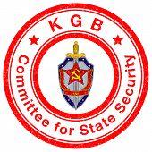 Stamp of KGB