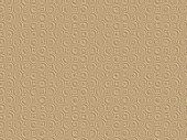 Beige-pink golden embossed paper 3D texture with circles