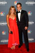 NEW YORK-APR 26: Comedian Sebastian Maniscalco and wife Lana Maniscalco attend the American Comedy A