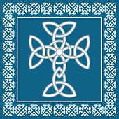 Celtic Cross,symbolizes Eternity,vector Illustration