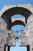 The main entrance to the monastery Echmiadzin,Armenia