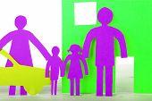 Neon Paper Family