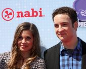 LOS ANGELES - APR 26:  Danielle Fishel, Ben Savage at the 2014 Radio Disney Music Awards at Nokia Th