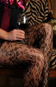 Wine And Legs