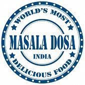 Masala Dosa-stamp