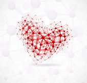 Постер, плакат: Molecular Heart