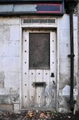 Doorway of a Derelict Building