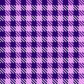 Purple check fabric