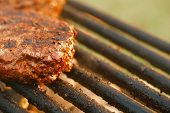 stock photo of barbecue grill  - food meat  - JPG