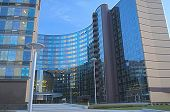 Minsk, Bealarus - April, 26: Modern Hotel Building Exterior