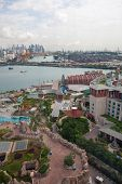Sentosa is a popular island resort in Singapore