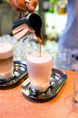 Latte Preparation