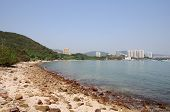 pic of lantau island  - One of the beaches on Lantau island in Hong Kong - JPG