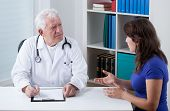 Practiced Doctor Talking With Patient