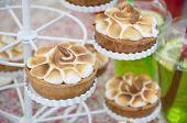 Little Meringue Cakes