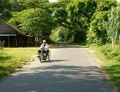 Vietnamese Disability, Wheelchair, Country Road