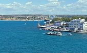 image of sevastopol  - the embankment of Sevastopol city Crimea Ukraine - JPG
