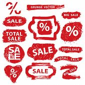 Sale.Grunge Stamps,badges,label,banners set