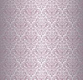 Pink & silver renaissance pattern vintage design