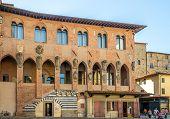 Buildings In Piazza Duomo In Pistoia