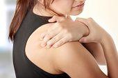 Concepto de dolor de espalda.