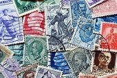 Vintage Italian stamps