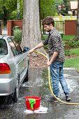 Splashing The Car