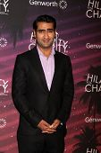 LOS ANGELES - OCT 17:  Kumail Nanjiani at the Hilarity for Charity Benefit for Alzheimer's Association at Hollywood Paladium on October 17, 2014 in Los Angeles, CA