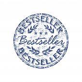 Bestseller grunge rubber stamp