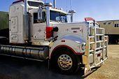 Australian Big Truck Parked