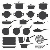 cookware silhouette set