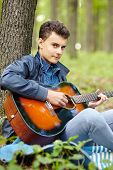 Teenager Guitarist