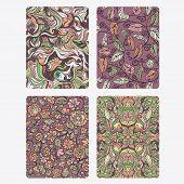 Vestor Set floral Background