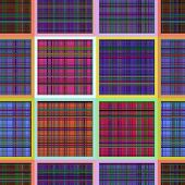 Seamless Pattern Reminded Scottish Fabric