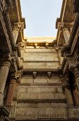 Sunlight On Adalaj Stepwell In Ahmedabad