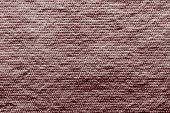 Texture Wadded Fabric Of Claret Color