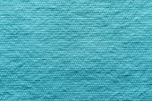 Texture Wadded Fabric Of Azure Color