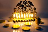 pic of hanukkah  - Photo of a dreidel  - JPG