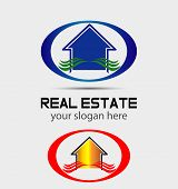House logo for real estate companies
