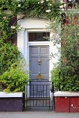 British Style Squared Front Door